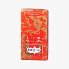 Thé vert à la fraise boîte de 20 sachets Kusmi Tea