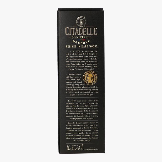 Gin Citadelle Réserve 2017 Citadelle