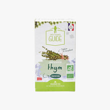 Thyme infusion - 20 teabags La Tisane du Guide