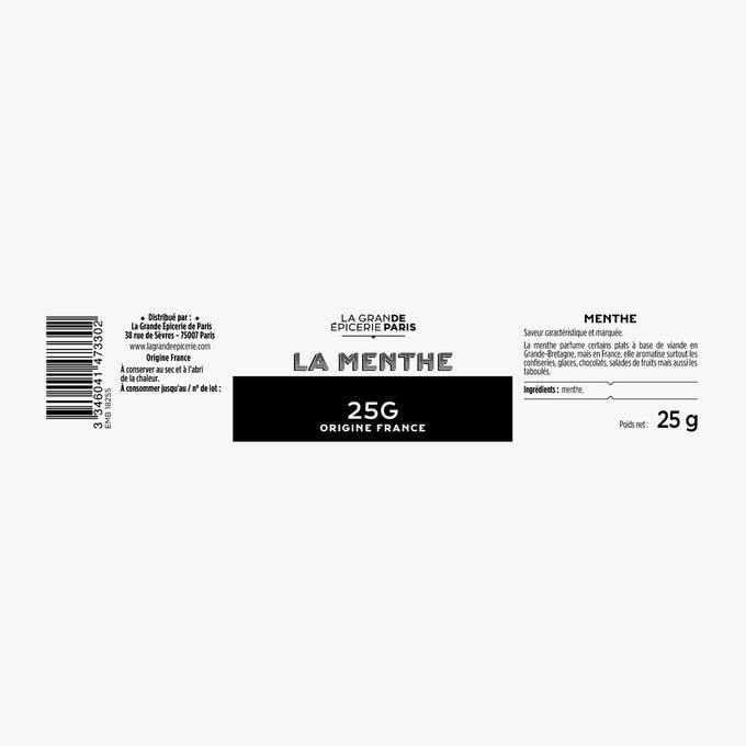 Menthe La Grande Épicerie de Paris