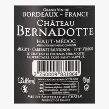 Château Bernadotte, PDO Haut-Médoc, 2015 Château Bernadotte