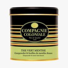 Thé vert menthe - Gunpowder & feuilles de menthe douce Compagnie Coloniale