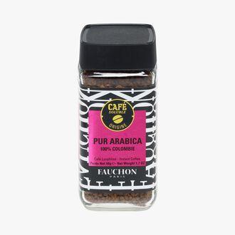 Café soluble pur arabica Fauchon