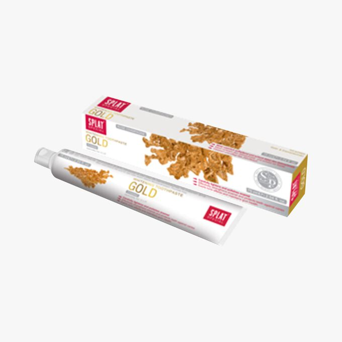 Splat Gold toothpaste – mint and royal jelly Splat
