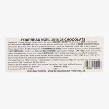 Boîte de 24 chocolats Chapon