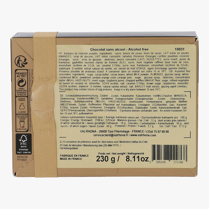 Box of 25 assorted chocolates  Valrhona