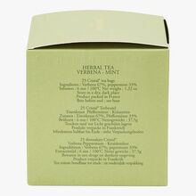 Verbena Mint herbal infusion - Box of 25 teabags Dammann Frères