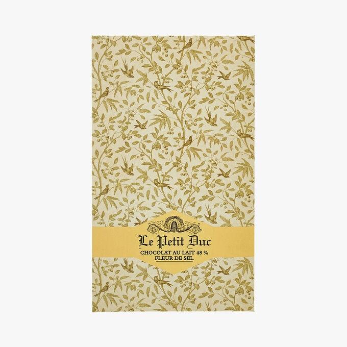 Chocolat au lait 48 % Fleur de sel Le Petit Duc