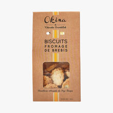 Ewes' cheese biscuits Okina