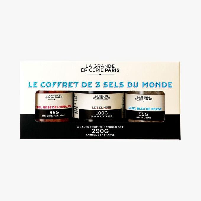 Le coffret de 3 sels du monde La Grande Épicerie de Paris
