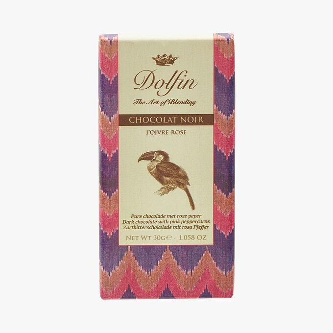 Dark chocolate - Pink pepper Dolfin