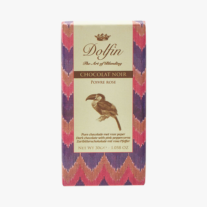 Chocolat noir - Poivre rose Dolfin
