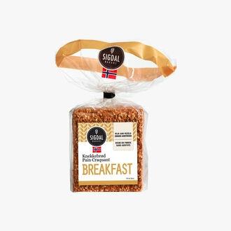 Crusty breakfast bread Sigdal Bakeri