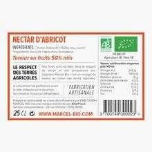 Organic apricot nectar Marcel Bio
