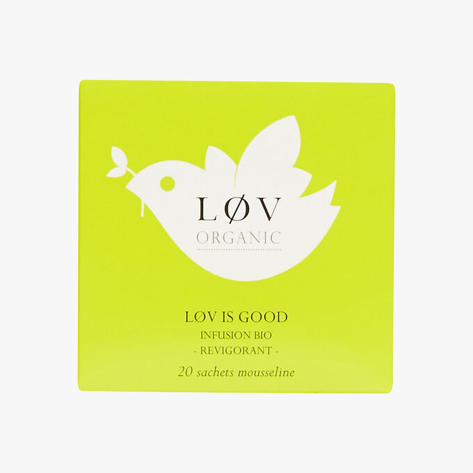 Lov is Good boîte de 20 sachets Lov Organic