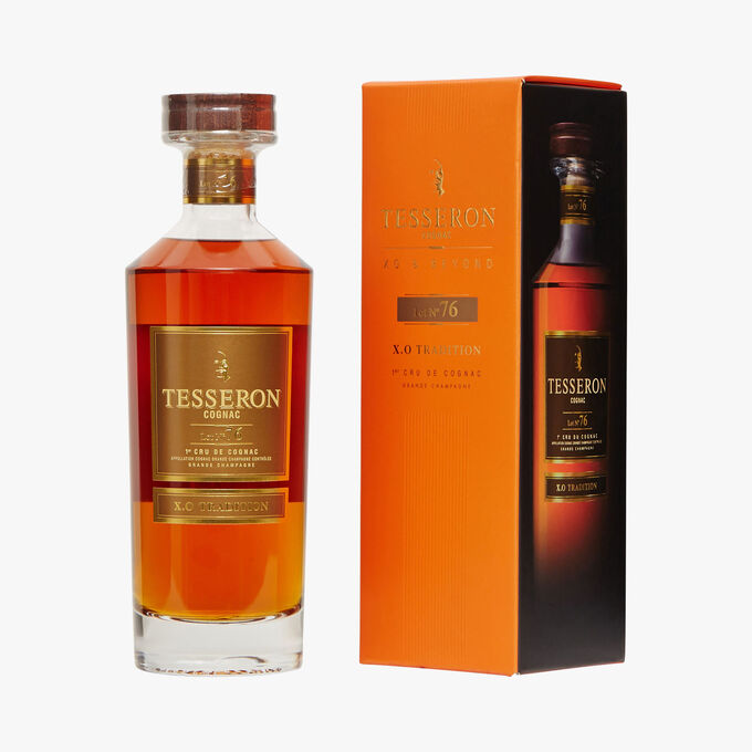 Cognac Lot n°76 XO Tradition Tesseron