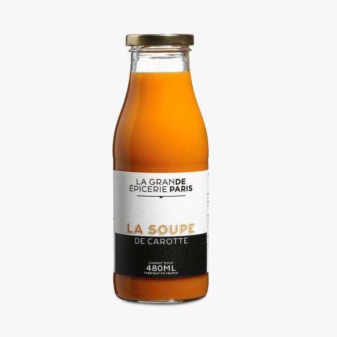 Soupe de carottes La Grande Épicerie de Paris