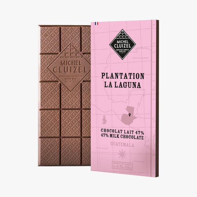Plantation la Laguna - Chocolat au lait 47% Michel Cluizel