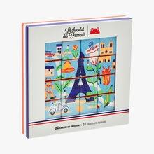 32 carrés de chocolat Le Chocolat des Français
