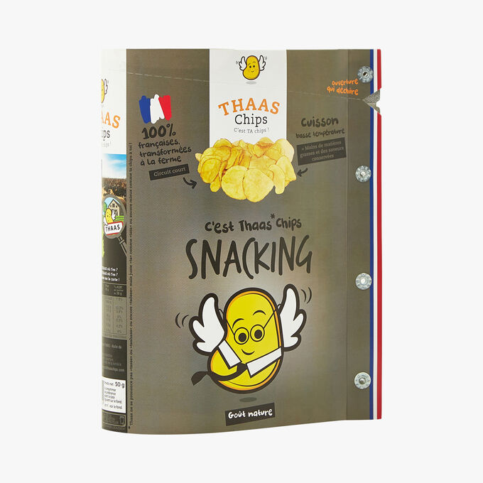 Chips snacking goût nature thaaschips