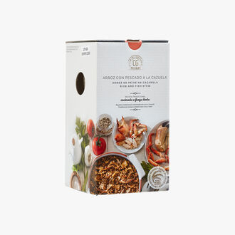 Casseroled rice with fish Club del Gourmet