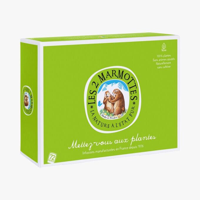 Coffret d'infusions Mettez-vous aux plantes Les 2 Marmottes