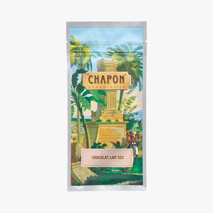 Milk chocolate bar with a minimum of 52 % cocoa Chapon