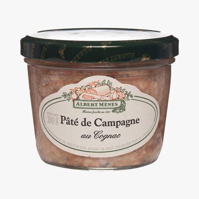 Pâté de campagne au Cognac Albert Ménès