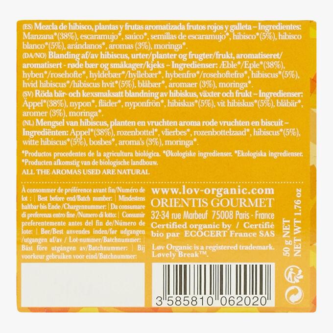 Lovely Break boîte de 20 sachets Lov Organic