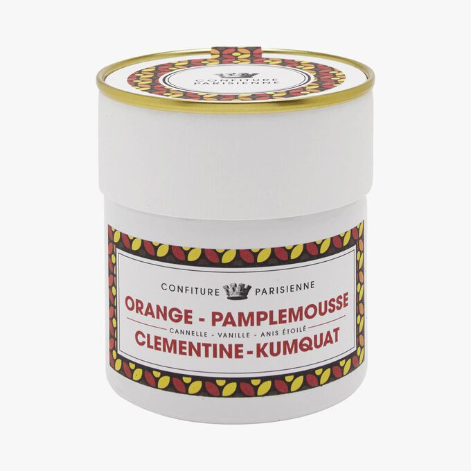 Orange, pamplemousse, clémentine, kumquat Confiture Parisienne