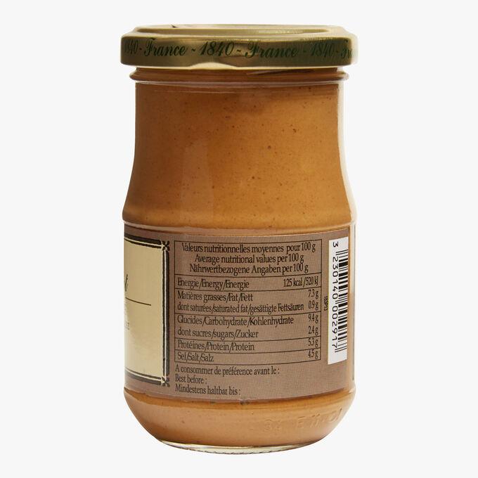 Mild brown mustard with herbs Fallot