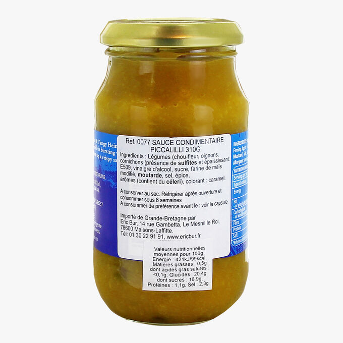 Piccalilli sauce Heinz