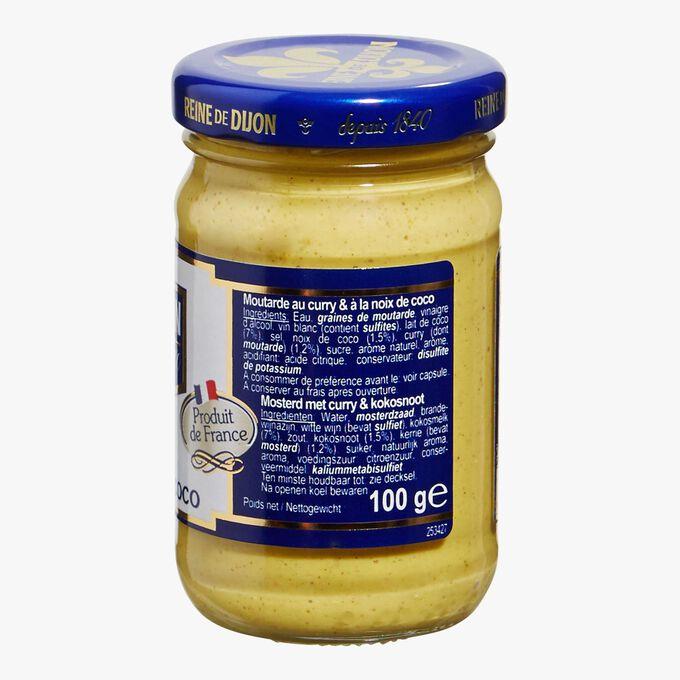 Curry mustard &with coconut Reine de Dijon