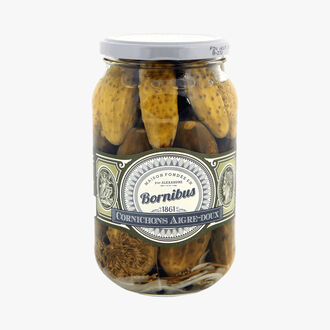 Sweet and sour gherkins Bornibus