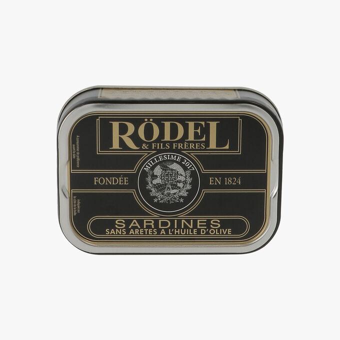 Sardines sans arêtes et à l'huile d'olive Rödel