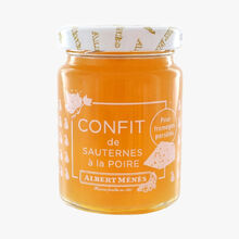 Sauternes and pear confit Albert Ménès