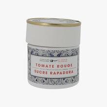 Tomate rouge sucre rapadura Confiture Parisienne