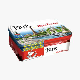 Paris shortbread gift box La mère Poulard