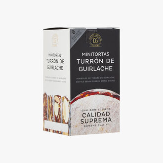 8 mini Touron wafers from Guirlache Club del Gourmet