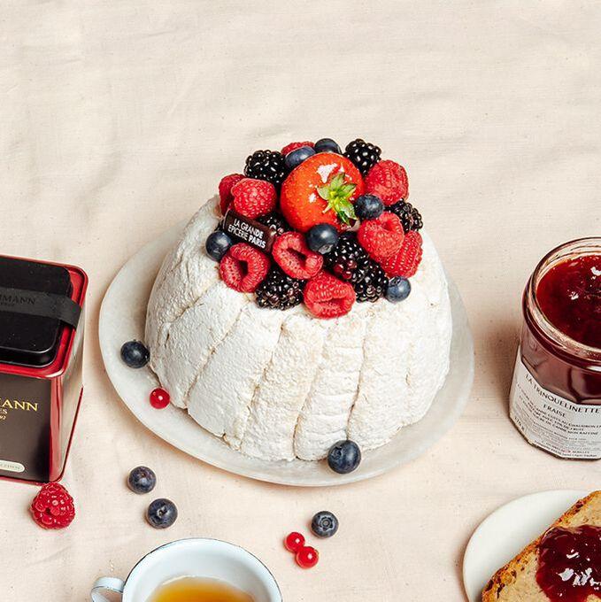Red fruits Charlotte Recette proposée par La Grande Epicerie de Paris
