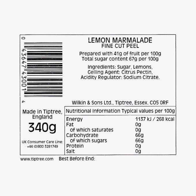Fine-cut lemon marmalade Wilkin & Sons