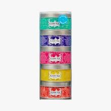 Wellness assortment, 5 metal tins Kusmi Tea