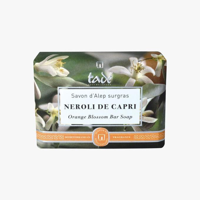 Aleppo Emollient Soap, Capri Néroli Tadé Pays du Levant