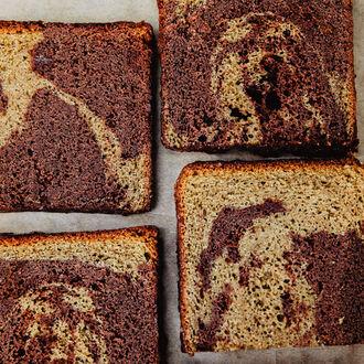 Cake marbré chocolat-pistache, , hi-res title=Cake marbré chocolat-pistache,