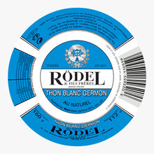 Thon blanc Germon, au naturel Rödel
