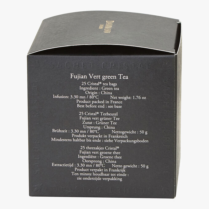 Fujian Vert green tea - Box of 25 teabags Dammann Frères
