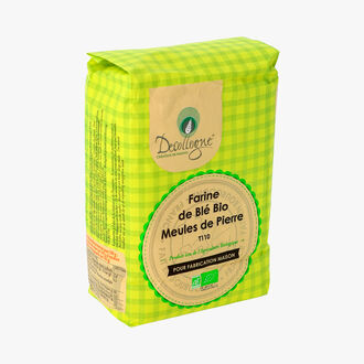 Farine de blé bio - Meules de pierre T110 Decollogne