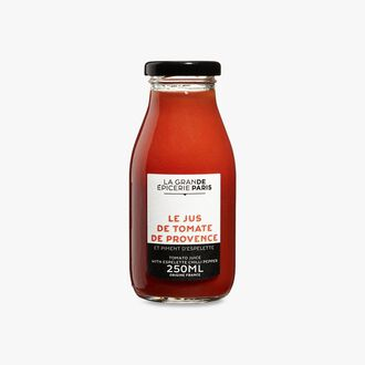 Provence tomato and Espelette chili juice La Grande Epicerie de Paris