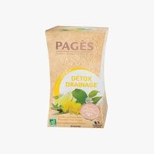Infusion bio détox drainage Pagès