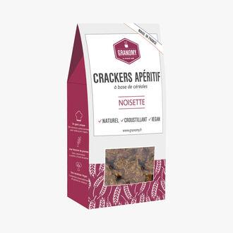 Crackers apéritif à la noisette Granomy